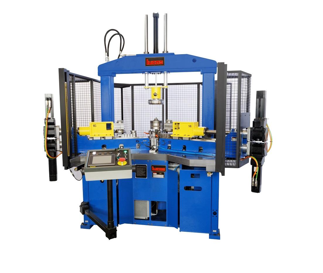 Trimming and forming machine model VBU 800