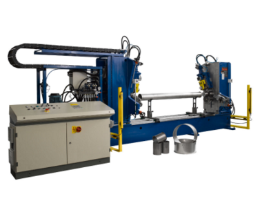 Double head Flanging Machine: Model 3/2000