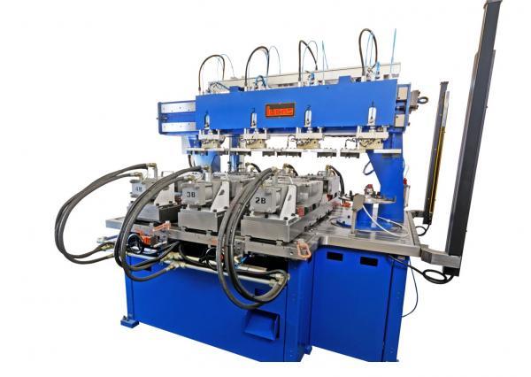 "M.S.M. Handles forming machine ""Lucas"";"