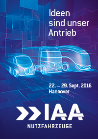 66th  IAA Commercial Vehicles from 22 to 29 September 2016, Hanover