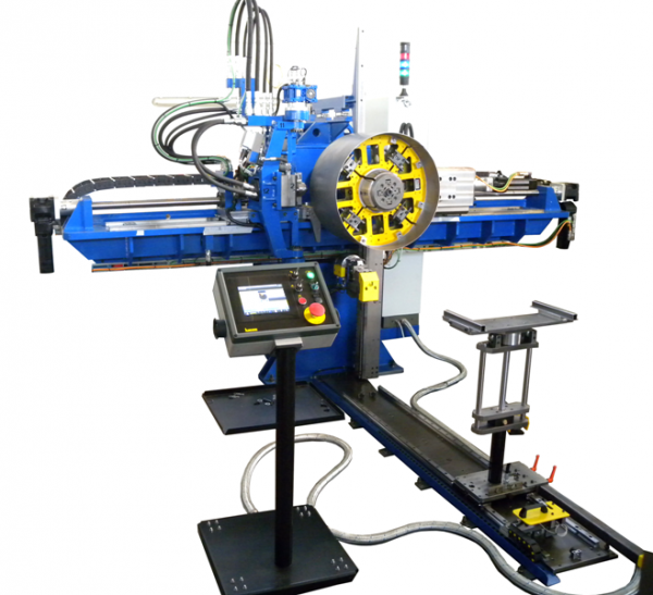 Flanging machine model Rotor 4