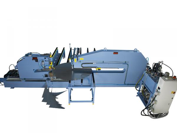 Circular shear and beading machine model 9/4200