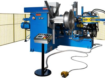 Flanging Machine for Industrial Ventilation: Model VBH